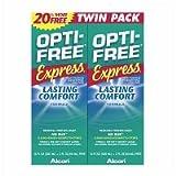 opti free express - Opti-Free Express Multi Purpose Solution, Twin Pack, 10 Ounce