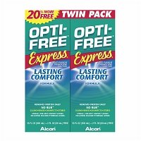 Opti-Free Express Multi Purpose Solution, Twin Pack, 10 Ounce