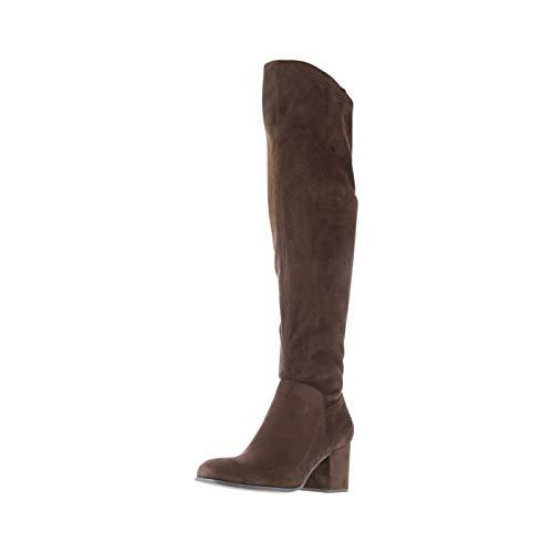 Christian Siriano for Payless Chocolate Women's Samiya Over-The-Knee Boot 6 Regular