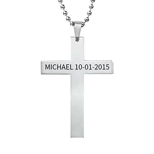 custom name necklace for men - 8