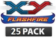 25 Flash Cards (Pokemon XY Flashfire - 25 Pack of Assorted)