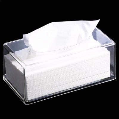 LLDKA Tessuto Acrilico Ristorante Box Continental Creative Hotel plexiglass Trasparente Scatola di pompaggio tovaglioli di Carta Scatola di plastica