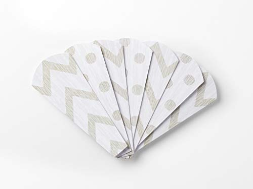 (Turkey on the Table replacement Thankful Feathers- Chevron/Polka Dot)