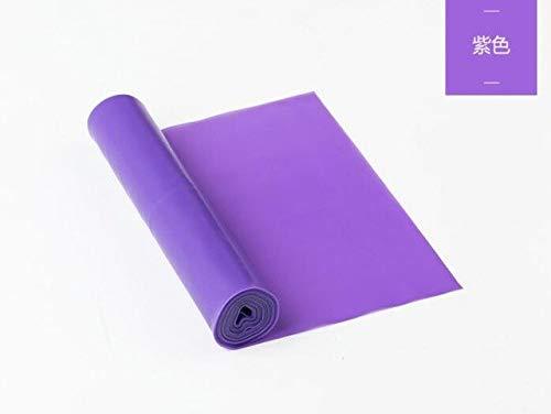 HATCHMATIC Yoga/ECP-feiendly y Estiramiento de la Aptitud Banda de Mal Gusto / / / Estiramiento: púrpura