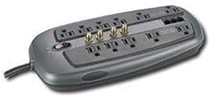 Dynex DX-S114241 11-Outlet PC Home/Office Surge Protector, 8-Foot