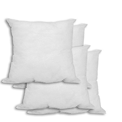 Mybecca 4 Pack Pillow Form