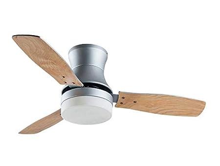 Faro ventilateur de plafond moderne 107 cm argent et pales érables
