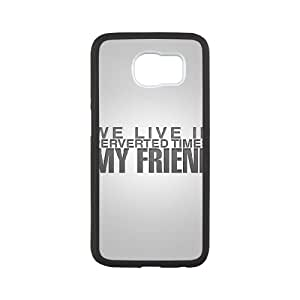Samsung Galaxy S6 Cell Phone Case Black iPhone we live in perverted times my friend Kqlcl