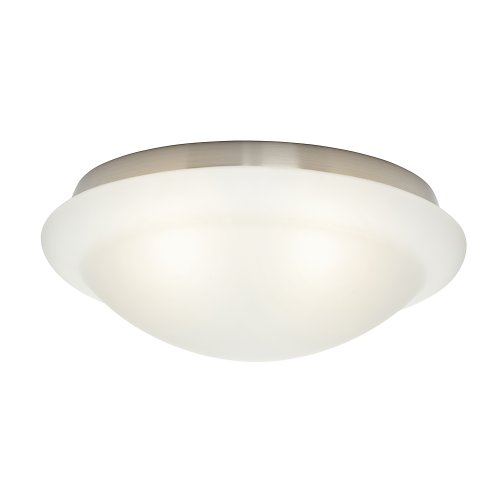- Casablanca 99083 Cased White Stepped Globe for Low Profile Fitters
