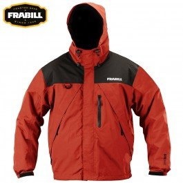 F2 Visor (Frabill F2 Surge Rainsuit Jacket, Red,)