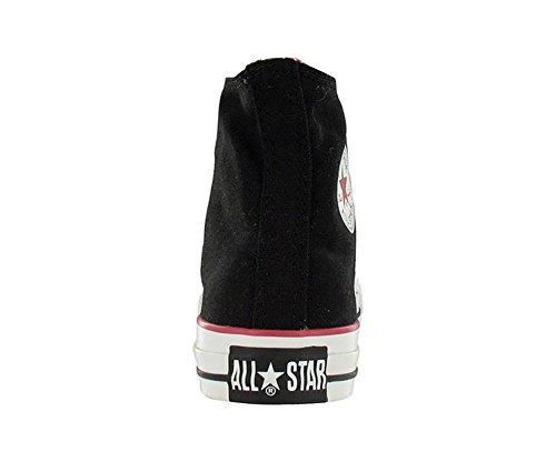 Top High Canvas Sneaker Roll All Down Converse Taylor Chuck Star Black Fashion Hi xnHR0