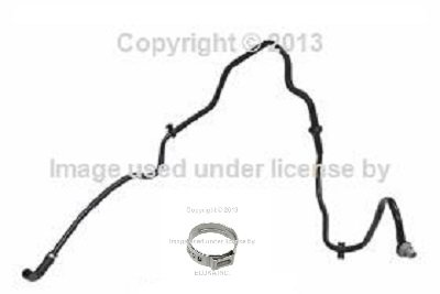 BMW Genuine Factory Brake Booster Hose with Check Valve E60 E63 E64 545i 550i 645Ci 650i 645Ci 650i
