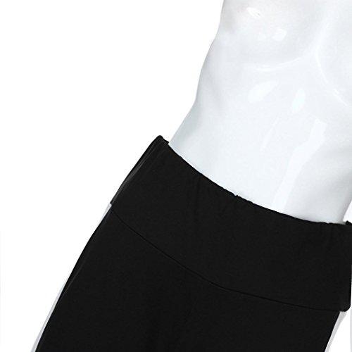 Femme Noir Unique ITISME Taille Taille Jeans Ecru Noir Jeanshosen Empire xYHIYSq