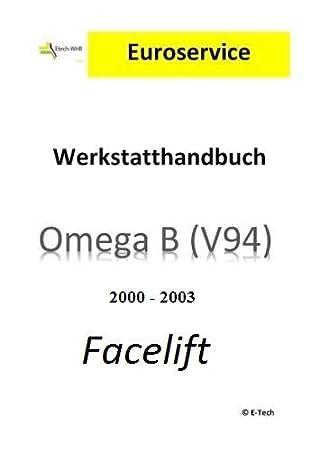 Reparaturhandbuch Opel Omega B Pdf