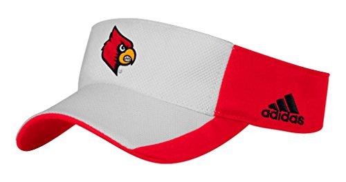 Cardinal Visor - adidas Louisville Cardinals NCAA Performance Adjustable Visor