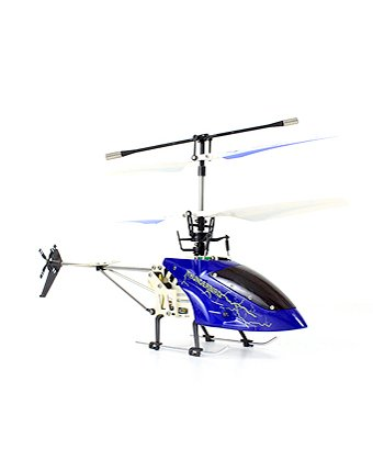 2.4 Ghz Helizone RC Thunderbird 4 CH Gyro Remote Control Helicopter – Blue