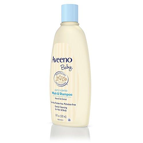 Aveeno Baby Wash & Shampoo, 18 Oz