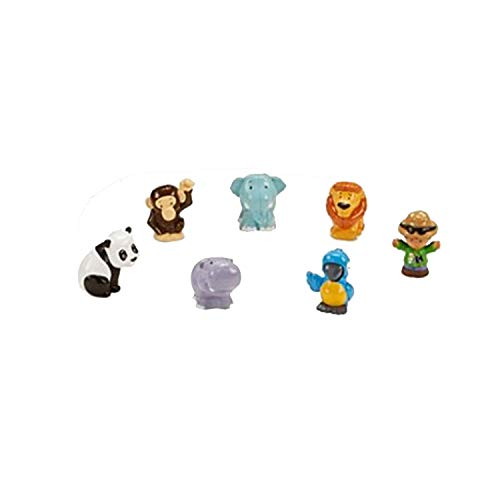 Fisher-Price Little People Share & Care Safari - Replacement Zookeeper and Animals FHF35