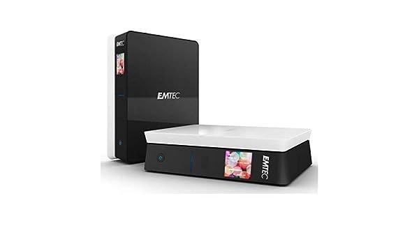 Emtec 4070028198 - Disco Duro Multimedia S800 500 GB TDT Hdmi ...