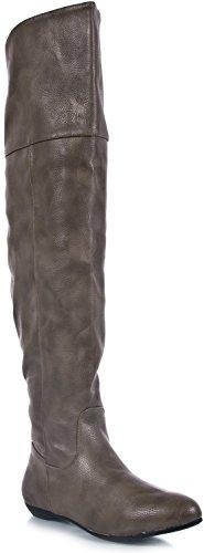 Bamboe Dames Zoria-48 Laarzen Zwart