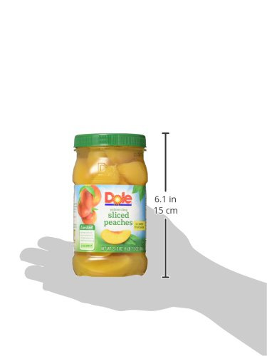 Dole Harvest Best Sliced Peaches in Jar, 23.5 oz