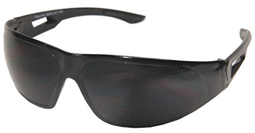 Edge Eyewear Silver Mirror Safety Glasses, Anti-Fog (Silver Mirror Lens G15)