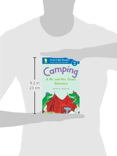 Camping: A Mr. and Mrs. Green Adventure (Green Light Readers Level 2) by Brand: HMH Books for Young Readers (Image #1)