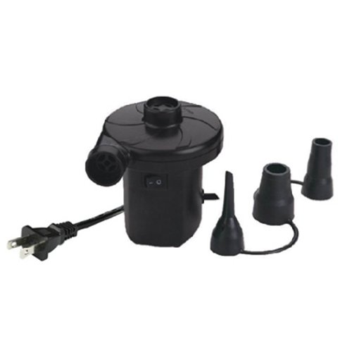 Smart Air Beds A/C Electrical Air Bed Pump, Black, Outdoor Stuffs