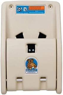 product image for Koala Kare KB102-00 Wall-Mounted Child Protection Seat w/Safety Straps - Polyethylene, Cream