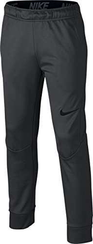 Nike Boy's Tapered Therma Training Pants (Large, Anthracite / Anthracite) by NIKE