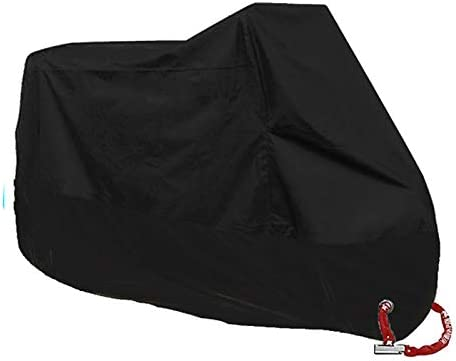 2 Anti-Theft Lock Holes Design Durable and Tear Proof Scooter Motorcycle Cover#7250 CNSSKJ Motorcycle cover Fits Up To 96.5 Motors