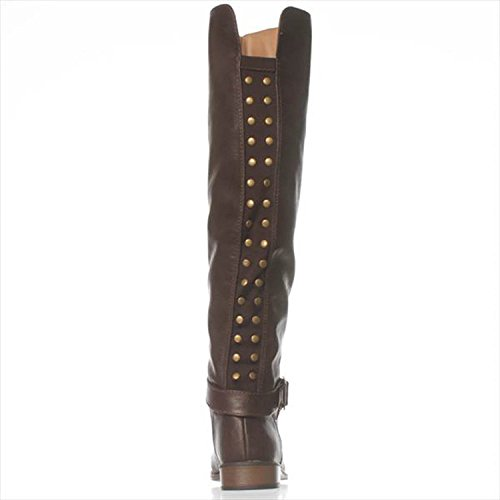 NOTFOUND, Stiefel Frauen Brown
