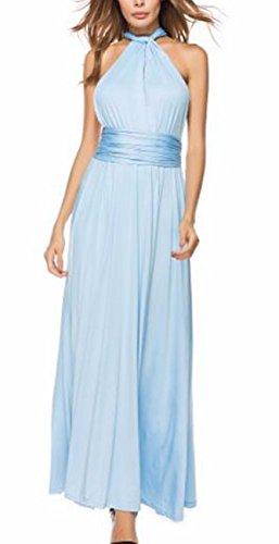 Vestidos de damas de honor azul electrico