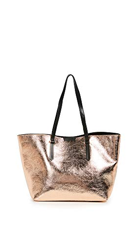 KENDALL + KYLIE Women's Izzy Tote, Copper, One (Copper Metallic Leather Handbags)