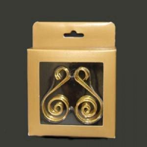Tree Christmas Hooks (Kurt Adler Gold Ornament Hooks, 30 Pieces)