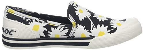 Rocket Donna Infilare Jazzin A00 black Sneaker Slip Nero Dog ZnXZOxT