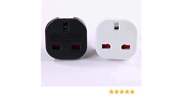 ADAPTADOR CORRIENTE ENCHUFE UK INGLES REINO UNIDO A EUROPEO ...