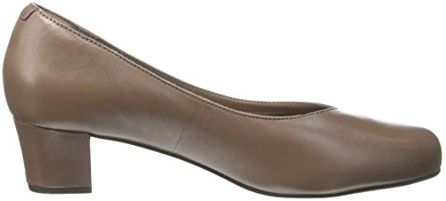 Rockport Total Motion Charisse, Scarpe Col Tacco Punta Chiusa Donna Beige (New Taupe Leather)