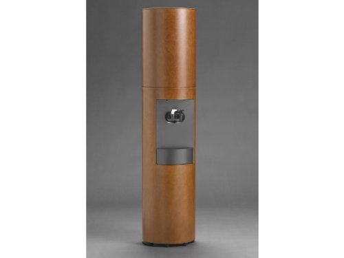 Cima Canadian Cherry Wood Bottleless Water Cooler with Brown Stain and Furniture Finish by Aquaverve (Image #3)
