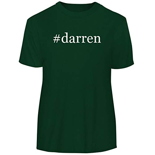 One Legging it Around #Darren - Hashtag Men's Funny Soft Adult Tee T-Shirt, Forest, -