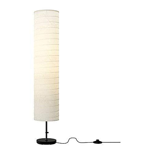 IKEA Floor Lamp 46 Contemporary Style Modern Soft Lighting HOLMO White New