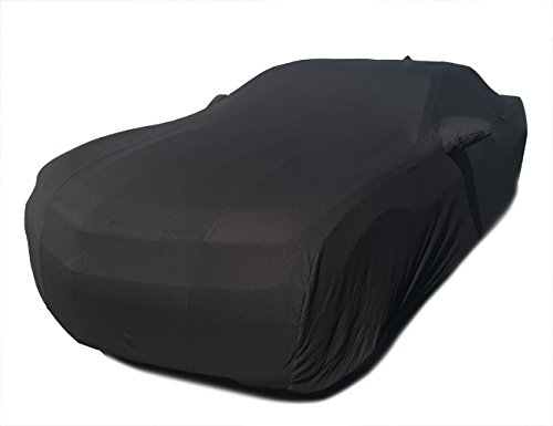 CarsCover Custom Fit 2010-2017 Chevy Camaro Car Cover Blackshield Cashmere-look (Chevy Camaro Cover)