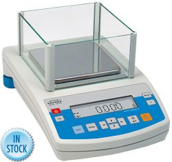 Nevada Weighing Radwag PS 1000.R2 Precision Milligram Balance With Internal Calibration, 1000 g x 0.001g