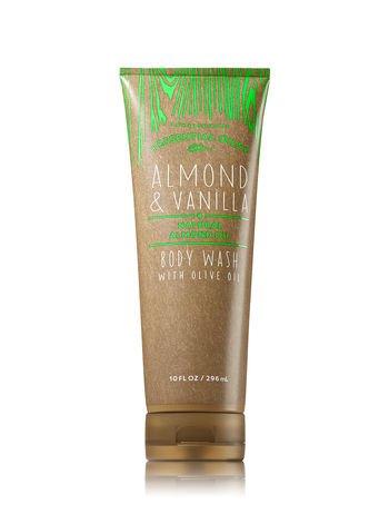 Bath & Body Works Oilve Oil Body Wash Almond & (Cream Vanilla Body Wash)