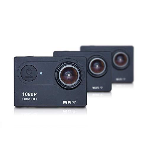 Aoile Cámara de Acción Ultra HD 4K WiFi Mando a Distancia Deportes Videocámara DVR DVR Impermeable Pro Cámara, Negro