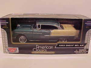 ard Top Coupe Die-cast Car 1:24 8 inch Green w Tan ()