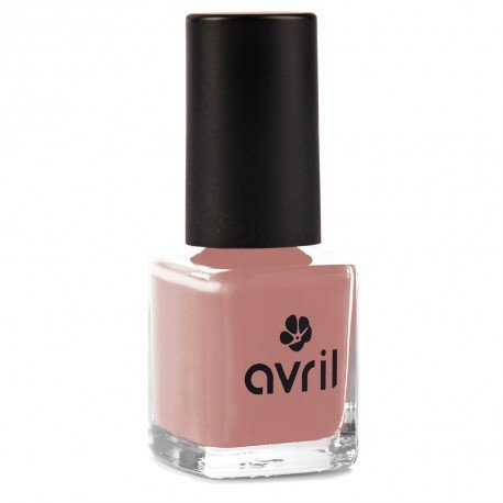 AVRIL - Vegan Nail Polish - Chemicals Free - Nude 566 - Easy Application, Not Tested on Animals - 7ml