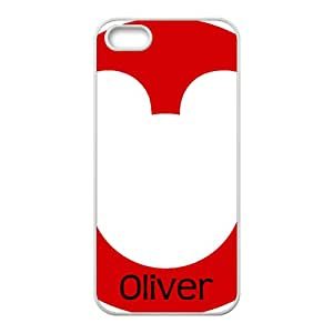 Oliver Lovely bear head Cell Phone Case for Iphone 5s