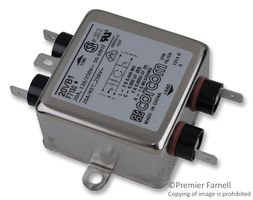 TE CONNECTIVITY/CORCOM 20VB1 RFI POWER LINE FILTER, 20A, 700UA