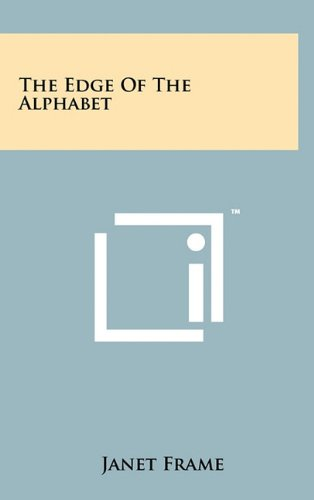 book cover of The Edge of the Alphabet